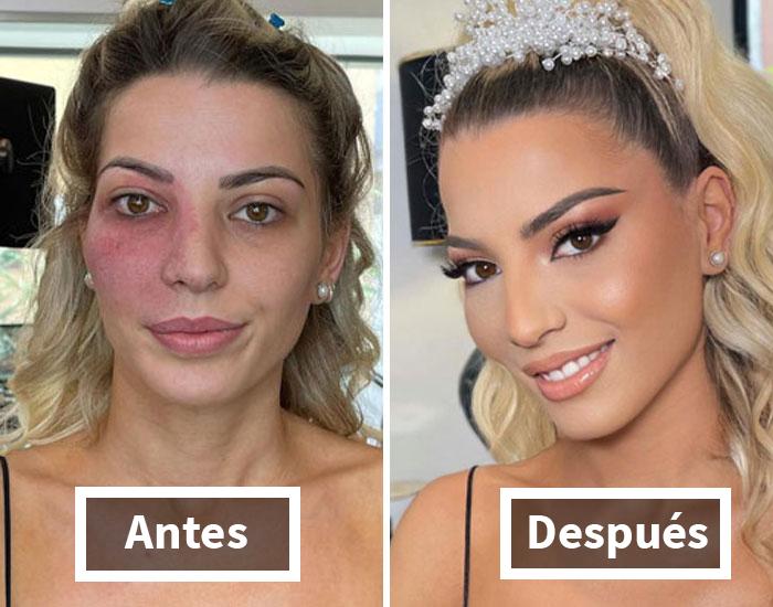 21 mujeres antes y después de ser maquilladas para su boda por Arber Bytyqi (nuevas fotos)