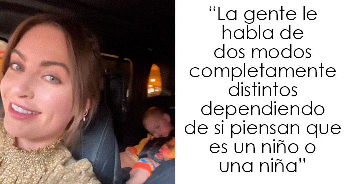 """""""Desde que me di cuenta, no dejo de notarlo"""": Esta madre afirma que las personas tratan a su hija de forma distinta cuando piensan que es un varón"""