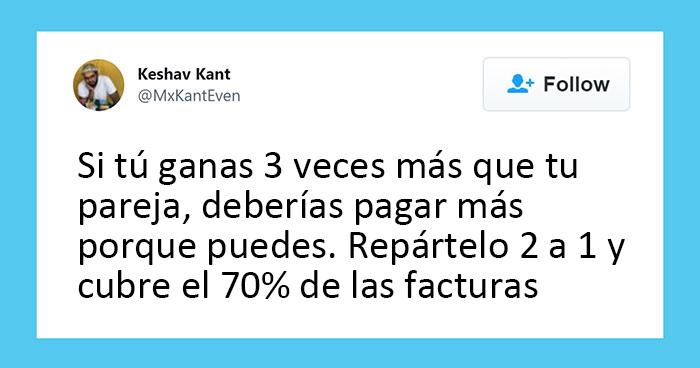 Un tuit viral inicia un debate sobre si repartir las facturas de forma equitativa es injusto