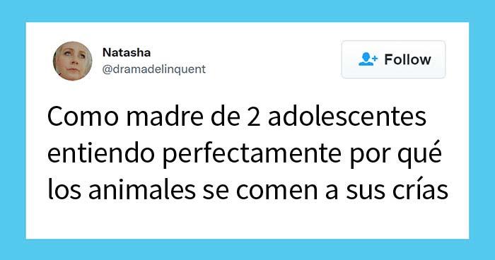 20 Divertidos tuits de padres educando a sus hijos adolescentes