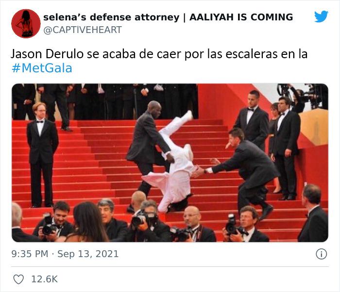 30 Hilarious Tweet Reactions To The 2021 Met Gala