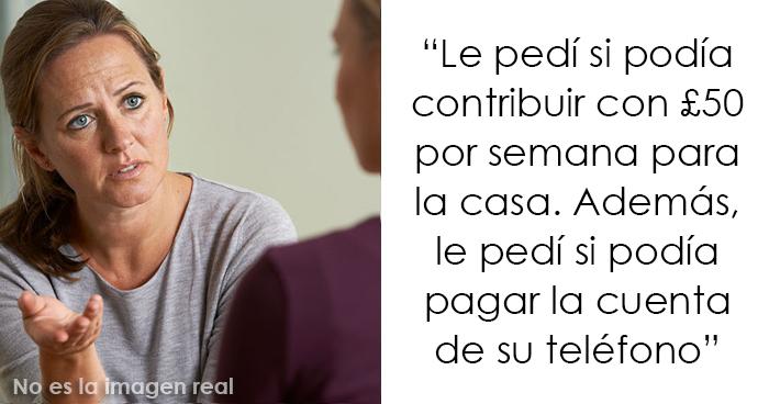 """Esta madre le pidió a su hija adolescente trabajadora que comenzara a contribuir con los gastos del hogar, y ahora se siente """"la peor mamá del mundo"""""""