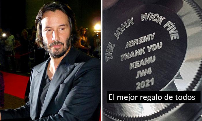 «El mejor regalo de todos»: Keanu Reeves regala a sus dobles de John Wick 4 un Rolex de 10.000$ a cada uno como agradecimiento